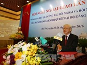 Ouverture de la 29e conférence sur la diplomatie à Hanoi