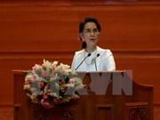 Ouverture de la conférence de paix au Myanmar