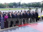Fête nationale : Hommage au Président Ho Chi Minh