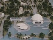 Hanoi lance les travaux d'un grand parc suburbain