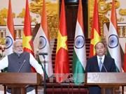 Le Vietnam et l'Inde établissent leur partenariat stratégique intégral