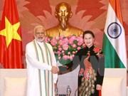 La présidente de l'AN vietnamienne reçoit le Premier ministre indien Narendra Modi