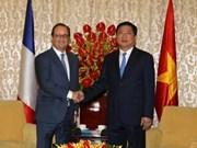 Ho Chi Minh-Ville accueille le président français François Hollande