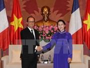 Entrevue Nguyen Thi Kim Ngan - François Hollande