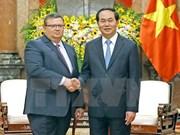 Le président Tran Dai Quang reçoit le procureur du Parquet suprême bulgare