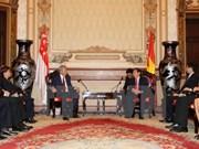 Ho Chi Minh-Ville accueille le vice-PM singapourien Teo Chee Hean