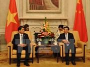 Hanoï et Pékin développent leur amitié