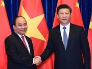 La visite du PM Nguyên Xuân Phuc booste les liens Vietnam-Chine