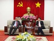 Une délégation de haut rang de Vientiane se rend à Binh Duong
