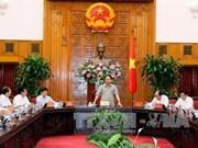 Le PM Nguyen Xuan Phuc travaille avec les responsables de Bac Lieu