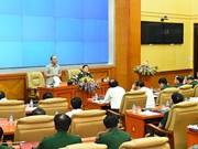 Le PM exhorte l'armée à rehausser sa combativité