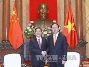 Le chef de l'Etat reçoit le ministre chinois de la Sécurité publique