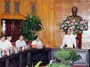 Économie : le PM incite Thanh Hoa à élaborer des solutions adaptées