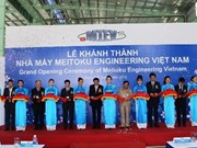 Inauguration de l'usine Meitoku Engineering Vietnam