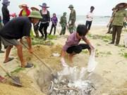 Formosa: les niveaux d'indemnité pour les pêcheurs sont connus