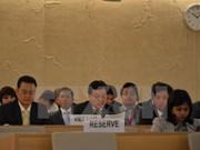 Le Vietnam contribue activement à la 33e session du Conseil des droits de l'homme