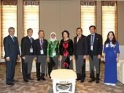 Vietnam et Singapour intensifient les relations entre les deux organes législatifs