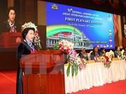 La présidente de l'AN salue les apports de la diaspora vietnamienne aux relations VN-Myanmar