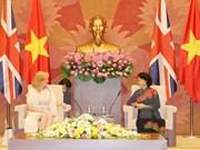Des dirigeants vietnamiens reçoivent une députée britannique