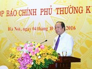 Gouvernement: conférence de presse portent sur des questions brûlantes