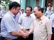 Le Premier ministre demande à Vinh Bao de développer l'agriculture high-tech