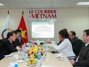 Michaëlle Jean s'engage aux côtés du Courrier du Vietnam