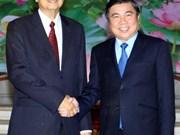 HCM-Ville souhaite développer ses relations de coopération avec le Cambodge