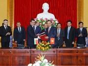 Vietnam - Biélorussie: promotion de la coopération dans le secteur de la sécurité