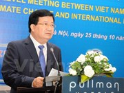 Forum de dialogue de haut rang sur le changement climatique