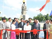 Le Cambodge inaugure un monument aux soldats volontaires vietnamiens