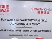 Sunwah Group : investissement supplémentaire de 100 millions de dollars au Vietnam