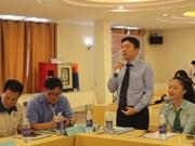 Connexion entre entreprises vietnamiennes et sud-coréennes