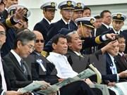 Le président philippin est ouvert à l'idée d'organiser des exercices militaires avec le Japon