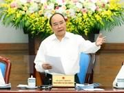Le Cabinet réfléchit à des moyens pour atteindre l'objectif de croissance