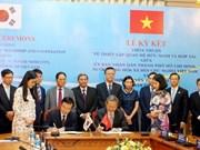 Ho Chi Minh-Ville et Séoul signent un accord de coopération