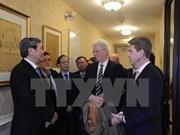 Le permanent du Secrétariat du PCV Dinh The Huynh termine sa visite aux Etats-Unis