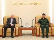 Une délégation militaire allemande en visite de travail au Vietnam
