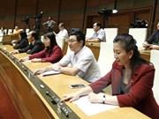 L'AN adopte la résolution sur le plan de développement socio-économique pour 2017
