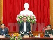 Le président demande de mettre en lumière les affaires de corruption