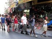 Hausse du nombre de touristes étrangers à Hanoi en dix mois