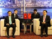 Le président du Comité permanent de l'APN Zhang Dejiang à Da Nang