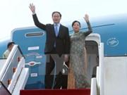 Le président Tran Dai Quang effectue une visite officielle à Cuba