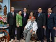 Le président Tran Dai Quang rencontre le leader cubain Fidel Castro
