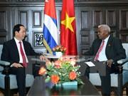 Le Vietnam réaffirme sa solidarité et son soutien à Cuba