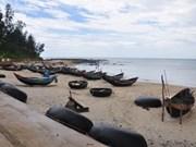 Le charme de la plage de Cua Tung