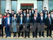 Hai Phong : le Premier ministre rencontre les électeurs de l'arrondissement de Hai An