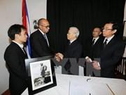 Le Vietnam rend un vibrant hommage au leader cubain Fidel Castro
