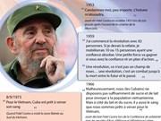 Les citations les plus célèbres du leader cubain Fidel Castro