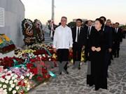 Hommage de la présidente de l'AN du Vietnam au leader Fidel Castro
