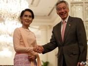 Singapour et le Myanmar engagent la négociation d'un traité sur l'investissement